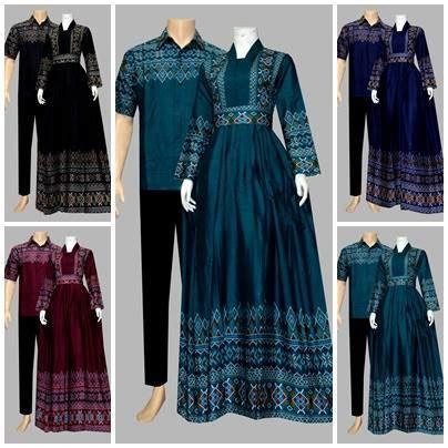 Model Baju Gamis Batik Katun D1925  Batik Bagoes Solo