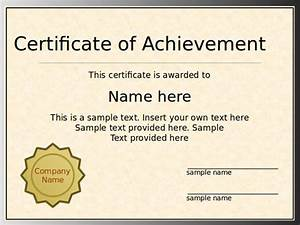 Course Completion Certificate Format Word 7 Powerpoint Certificate Template Free Sample Example
