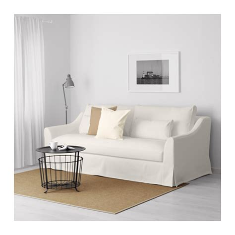 White Sofa Fabric by F 196 Rl 214 V 3 Seat Sofa Flodafors White Ikea