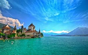 Lake, Constance, Known, As, Bodensee, Germany, Summer, Hd, Wallpaper, 2880x1800, Wallpapers13, Com