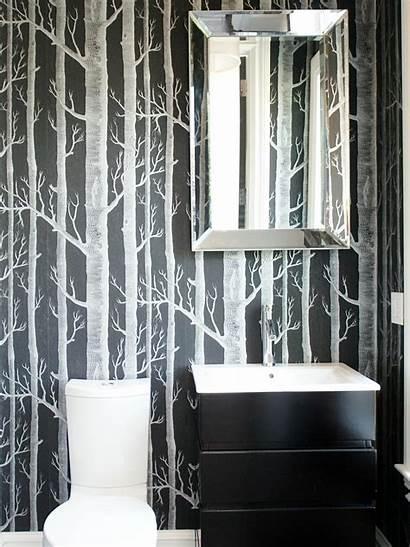 Powder Rooms Bathroom Hgtv Dark Ultra Bold