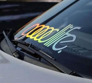 Hologramm Aufkleber Auto : goodlife frontscheibenaufkleber auto oilslick farbspiel ~ Jslefanu.com Haus und Dekorationen