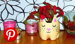 Pinterest Decoration : diy cat planter pinterest test diy room decor youtube ~ Melissatoandfro.com Idées de Décoration