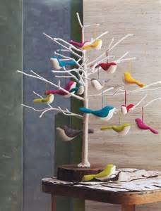large felt bird ornaments bird series tree ornaments nova68 com