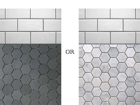 Hexagonal Tiles For Bathroom Floor by Tile Modern Trend For Your Home With Outstanding Octagon