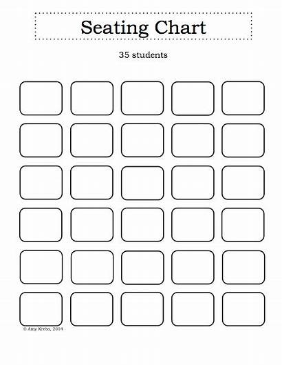 Seating Chart Template Classroom Blank Charts Sign