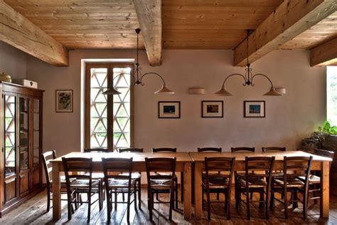 Sala Da Pranzo Rustica by Rustica Sala Da Pranzo In Casentino