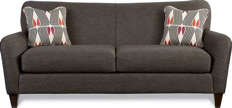 premier contemporary sofa  tapered wood legs  la