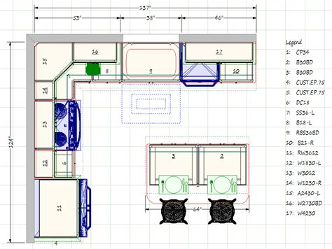 kitchen blueprints floor plan kitchen gallery