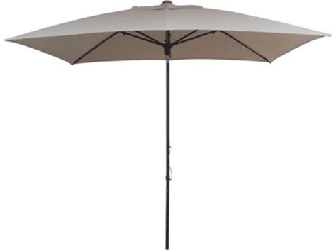 rectangular patio umbrella with chocolate brown frame