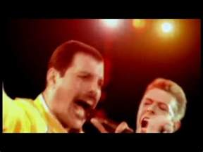 David Bowie and Queen Under Pressure