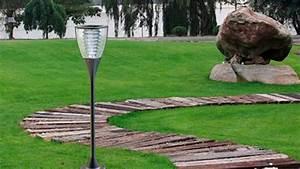 Parasol De Jardin : l mpara solar para jard n y alumbrado p blico youtube ~ Teatrodelosmanantiales.com Idées de Décoration
