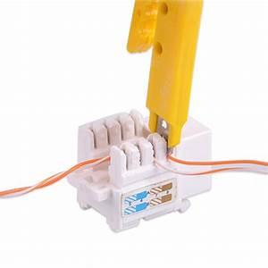 Network Ethernet Lan Cable Tester Kit Rj45 Cat5e Cat6
