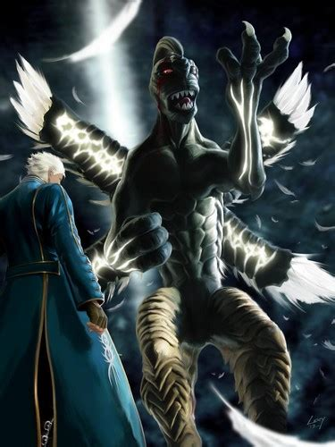 Vergil Images Vergil Vs Beowulf Hd Wallpaper And