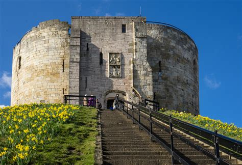 york castle ruin  york thousand wonders