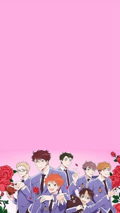 aesthetic anime haikyuu pink wallpapers