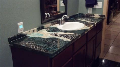 marble or granite like bathroom counters powder room