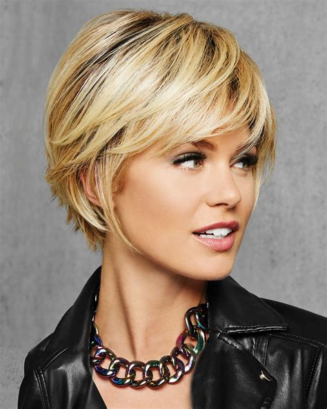 textured fringe bob synthetic wig  hair   wig outlet