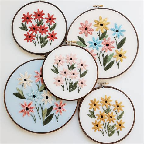 hand embroidery patterns ready      sew