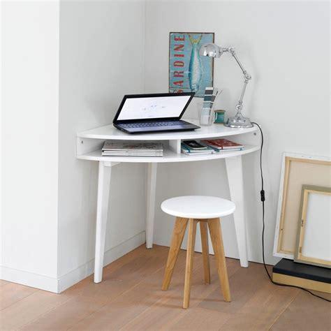 petit bureau informatique gain de place pour le coin informatique bureau console d
