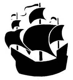 Pirate Pumpkin Stencil Printable by Bateau Silhouettes Pinterest Sailing Ships Clip Art