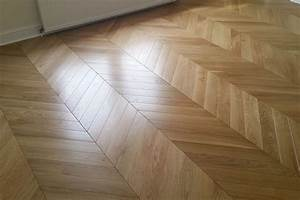 chevron With chevron parquet flooring