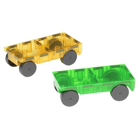 magna tiles 174 cars expansion set the animal rescue site