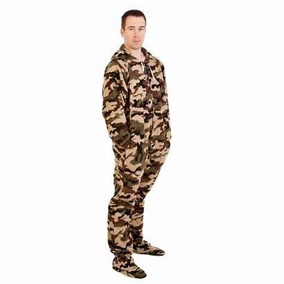 Onesie Camo Footed Pajamas Adult Onesies Footie