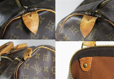 louis vuitton bandouliere   strap  monogram coated canvas  vachetta leather weekend