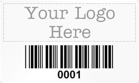 custom rectangle barcode labels