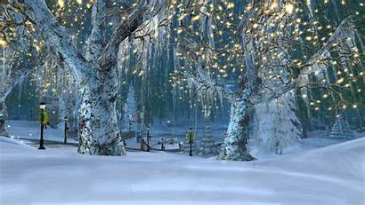 Winter Pretty Wallpapers Village Holiday Christmas Holidays