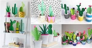 diy paper cactus is cheap decor that looks surprisingly