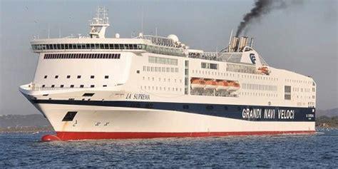 grandi navi veloci la suprema la suprema ship tracker tracking map live la suprema s
