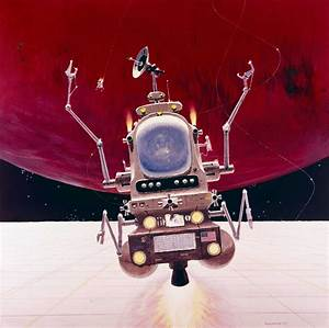 Space Probe One, from the Black Hole, Robert McCall 1979 ...