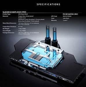 Phanteks G1080Ti GTX 1080 Ti ASUS Strix GPU Water Block ...
