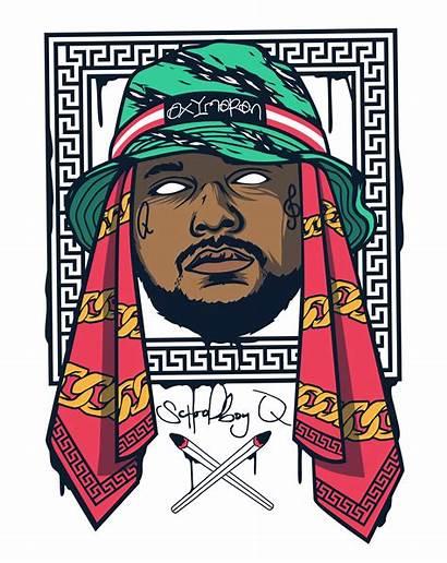 Schoolboy Hip Hop Rapper Dope Cool Arte