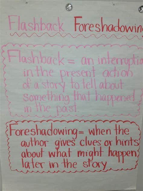 flashbackforeshadowing school worksheets kindergarten