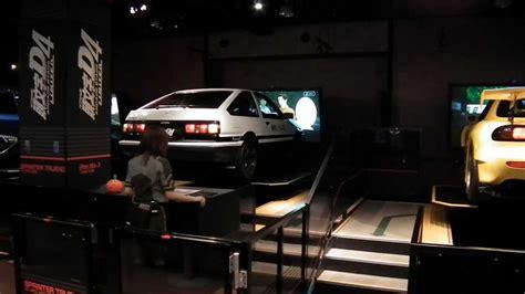 initial  arcade game  real cars  sega joypolis