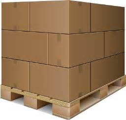 Shipping Boxes On Pallets