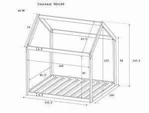Plan Cabane En Bois Pdf : lit montessori cabane 90x140 extensible coloris naturel ~ Melissatoandfro.com Idées de Décoration