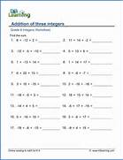 Multiplication And Division Of Integers Worksheet Reocurent Place Value To 10 000 Sheet 6 Sheet 6 Answers Grade Math Worksheets Kristal Project Edu Hash Maths Worksheets Year 5 And 6
