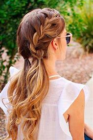 Cute French Braid Hairstyles Long Hair