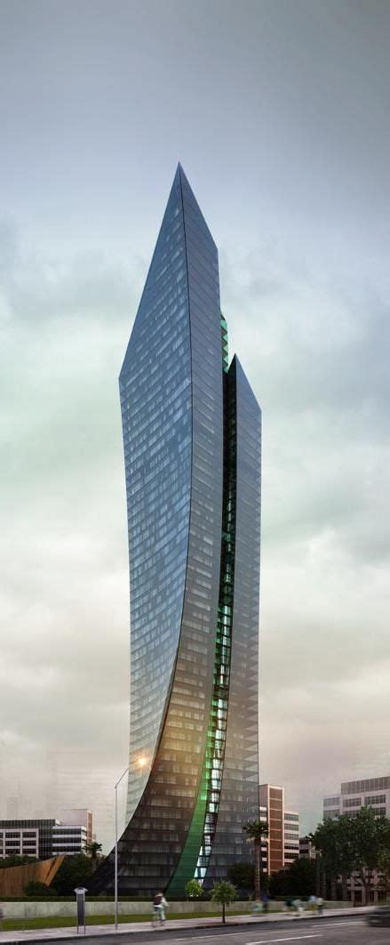 Port Baku III Tower Baku Azerbaijan Future Architecture