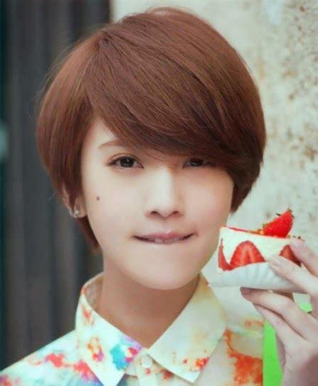 titik file trend model rambut wanita korea terbaru