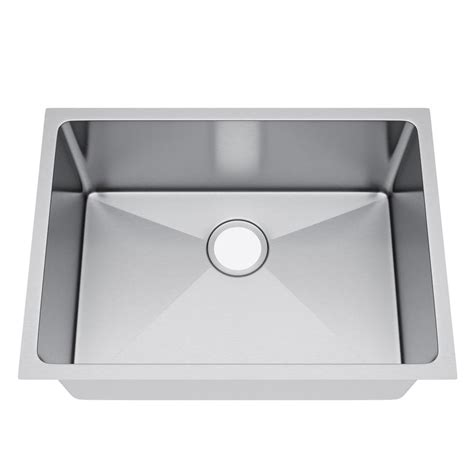 25 inch undermount kitchen sink exclusive heritage all in one undermount stainless steel 7307