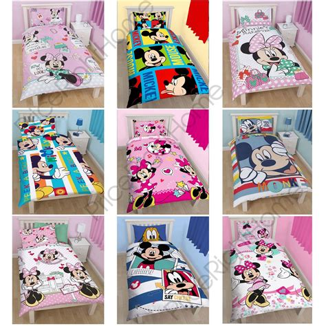 mickey minnie mouse bedroom bedding curtains design bild