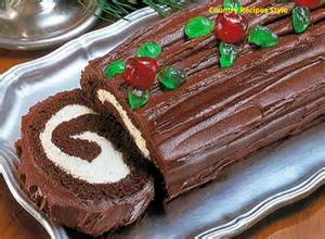 fast and easy christmas yule log cake country recipes style country recipes
