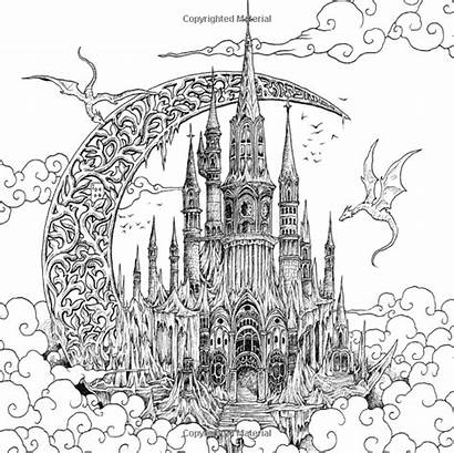 Coloring Pages Fantomorphia Detailed Kerby Rosanes Extreme