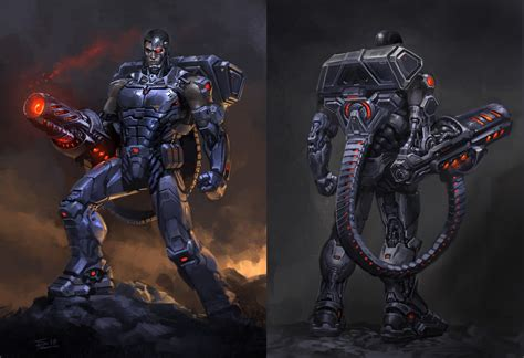 11 Of The Coolest Comic Book Cyborgs