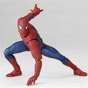 Revoltech Spider-Man New Images and Info - The Toyark - News
